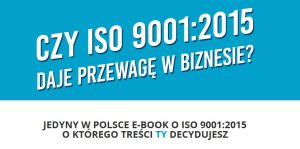przewaga ISO 9001:2015 reklama